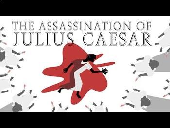 TED Ed: The Great Conspiracy Against Julius Caesar Video Quiz