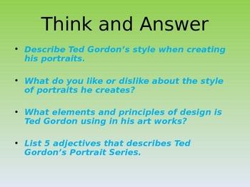 Ted Gordon: Exploring Portraits