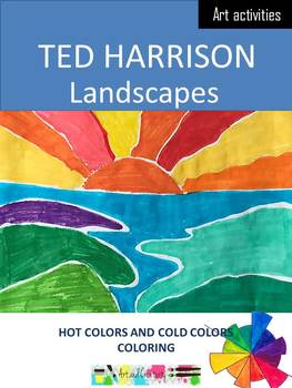 Ted Harrison - Coloring of landscapes and theory of colors