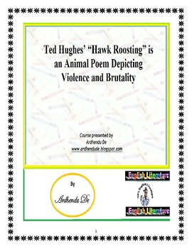 "Ted Hughes' ""Hawk Roosting"" is an Animal Poem"