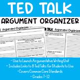 Ted Talk Argument Graphic Organizer