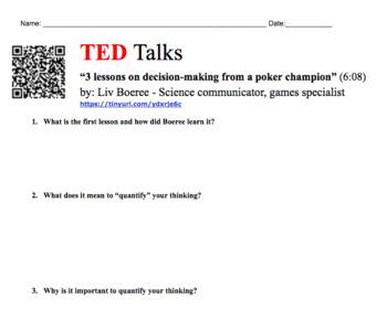 Ted Talk Poker