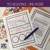 Ted Talk Response: One-Pager (Distance Learning)