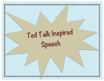 Ted Talk Speech