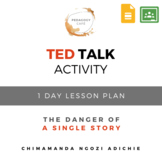 """TED Talk """"The Danger of a Single Story"""" ELA Lesson Plan &"""