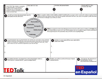 Ted Talk en español - Ted Talk for Spanish Class - Spanish Listening Skills