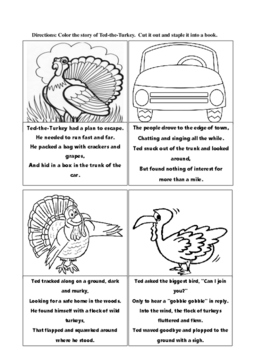 Ted-the-Turkey, A Thanksgiving Story