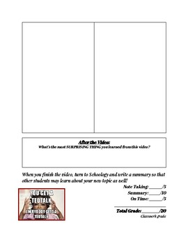 TedEd Video Worksheet