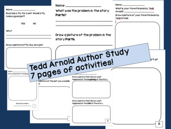 Tedd Arnold Author Study!