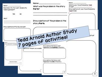 Tedd Arnold Author Study!
