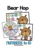 Teddy Bear Math Games {Numbers to 10}