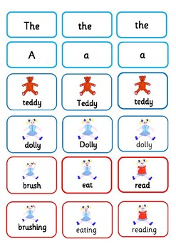 Action Verbs with Dolly and Teddy