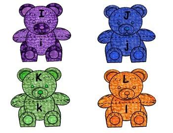 Teddy Bear ABC Match