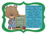 Teddy Bear Addition and Subtraction Common Core Activities