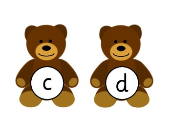 Teddy Bear Alphabet