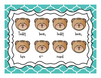 Teddy Bear: Beat and Rhythm Charts