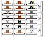 Teddy Bear Classroom Name Tag - Door Magnets