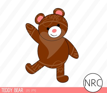 Teddy bear clipart commercial use