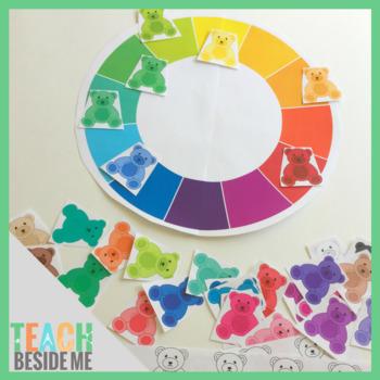 Teddy Bear Color Sort