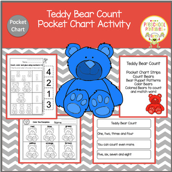 Teddy Bear Count Pocket Activity