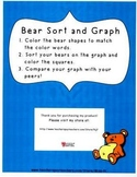 Teddy Bear Count and Color Graph