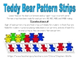 Teddy Bear Counter Patterns