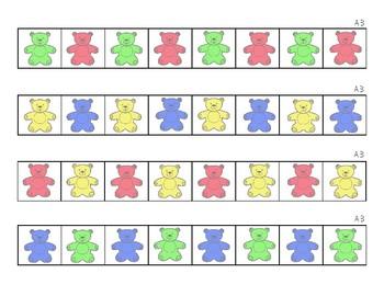 Teddy Bear Counter Patterns
