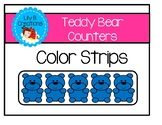 Teddy Bear Counters - Color Strips