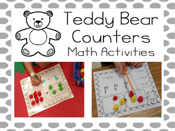 Teddy Bear Counters Math Activities