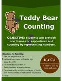 Teddy Bear Counting Math Manipulative Center Game