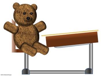 Teddy Bear Cutouts