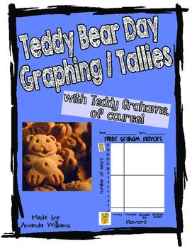 Teddy Bear Theme Bar Graph and Tally with Teddy Grahams