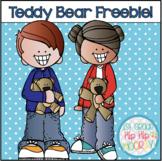 Teddy Bear Freebie!