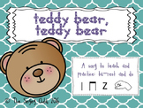 Teddy Bear: A song to teach ta-rest (Z) and do