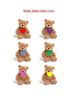 Teddy Bear Heart Color Match