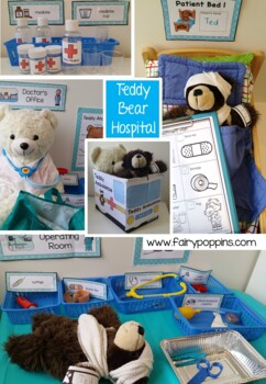 Teddy Bear Hospital Dramatic Play