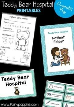 Teddy Bear Hospital Dramatic Play