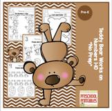 "Teddy Bear Learns Numbers 1-10 ""No Prep"""