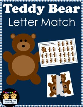Teddy Bear Letter Match