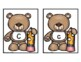 Teddy Bear Letter Recognition Flash Cards FREEBIE