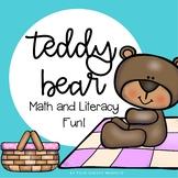 Teddy Bear Literacy and Math Activities | Teddy Bears Picnic
