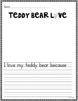 Teddy Bear Math and Literacy
