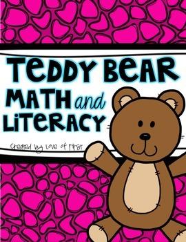 Teddy Bear Math and Literacy