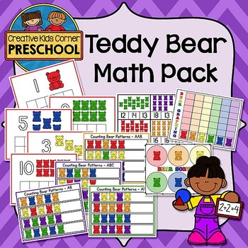 Teddy Bear Math Pack