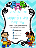 Teddy Bear Math Packet for Kindergarten & 1st Grade