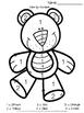 Teddy Bear Math Packet for Kindergarten & 1st Grade
