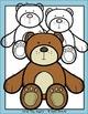 Teddy Bear Multicolored Clip Art Set - Chirp Graphics