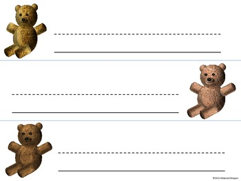 Teddy Bear Name Plates