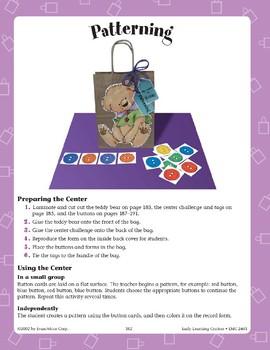 Teddy Bear--Patterning