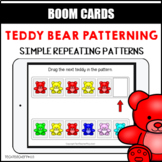 Teddy Bear Patterning Simple BOOM LEARNING CARDS Distance